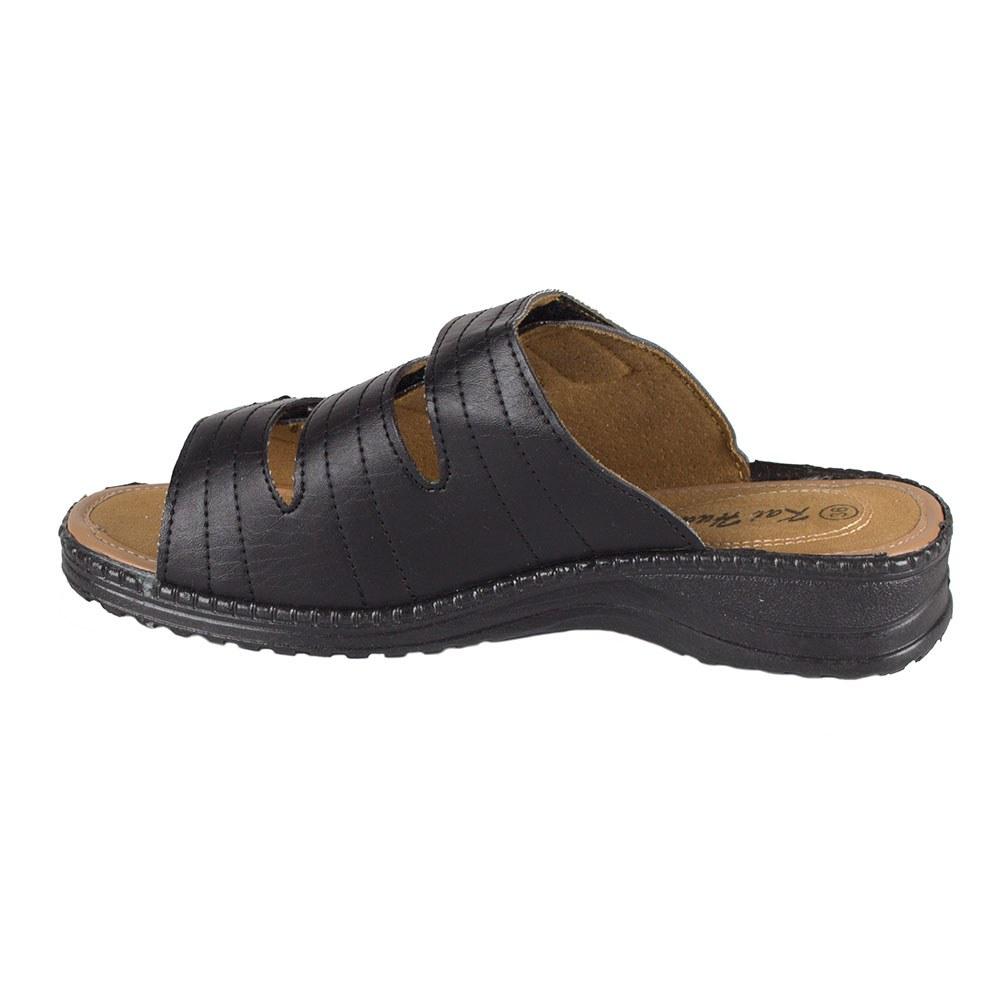Papuci dama negri de vara cu barete T09-N