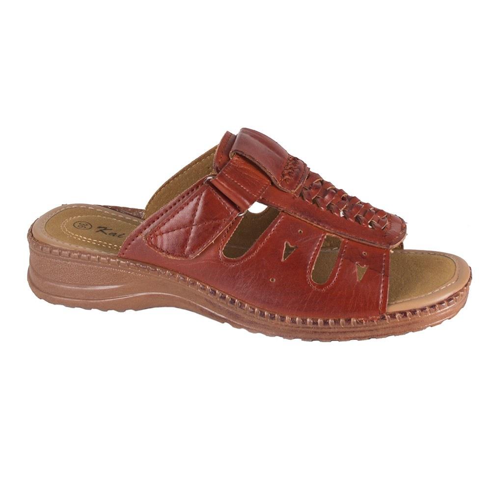 Papuci dama de vara maro T-12-M