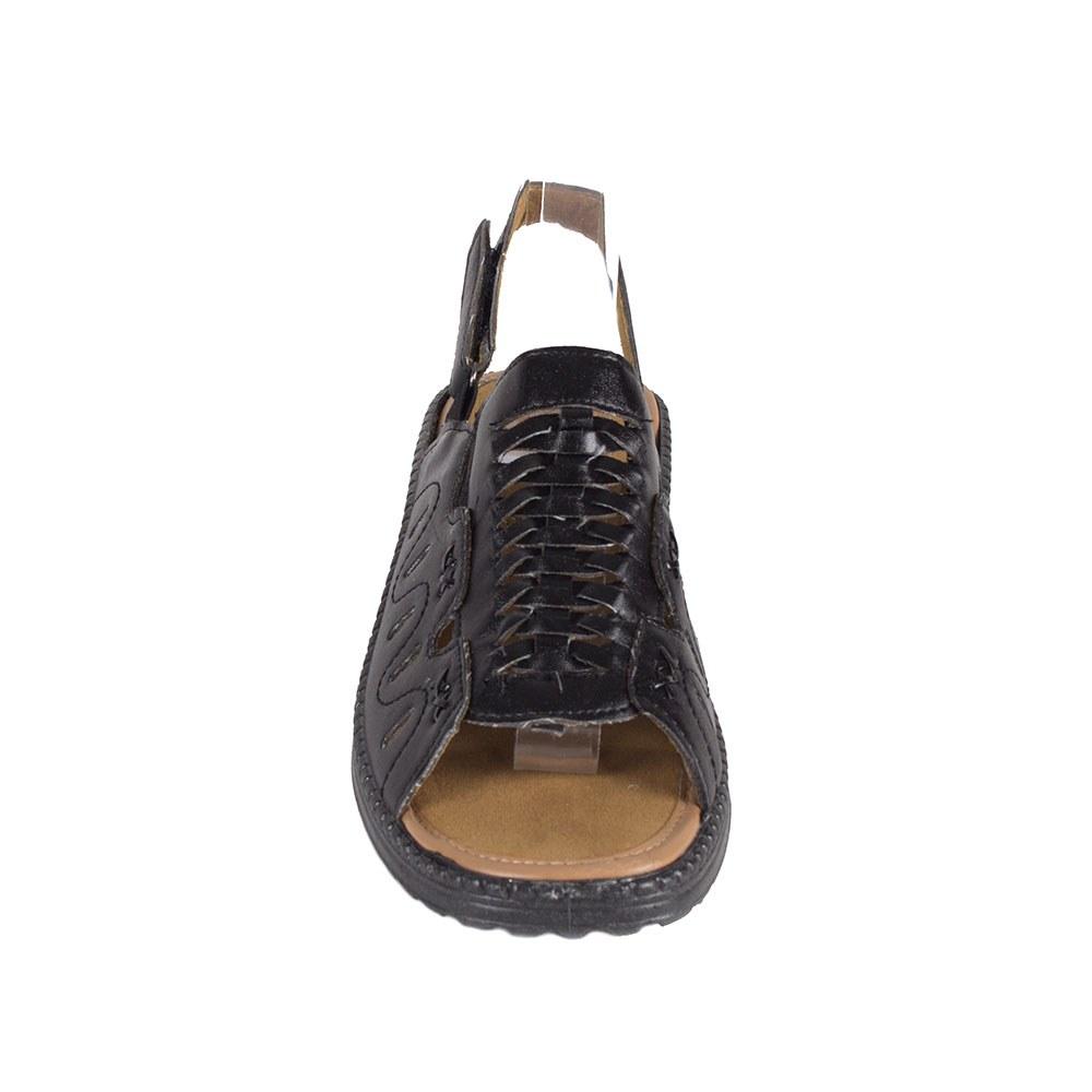 Sandale dama negre cu talpa joasa T-06-N