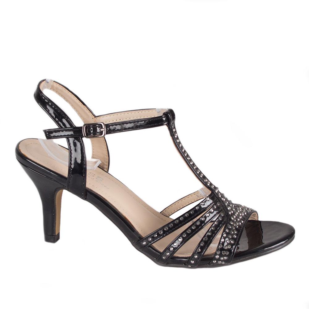 Sandale de dama cu toc 82646-N-PT