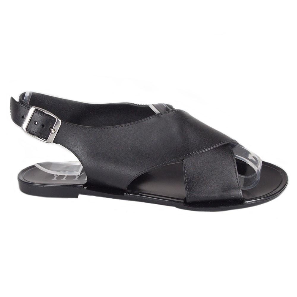 Sandale dama negre din cauciuc S-13-N