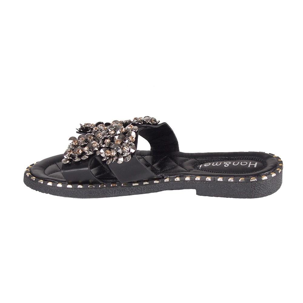 Papuci dama de vara negri PBP-1106-N