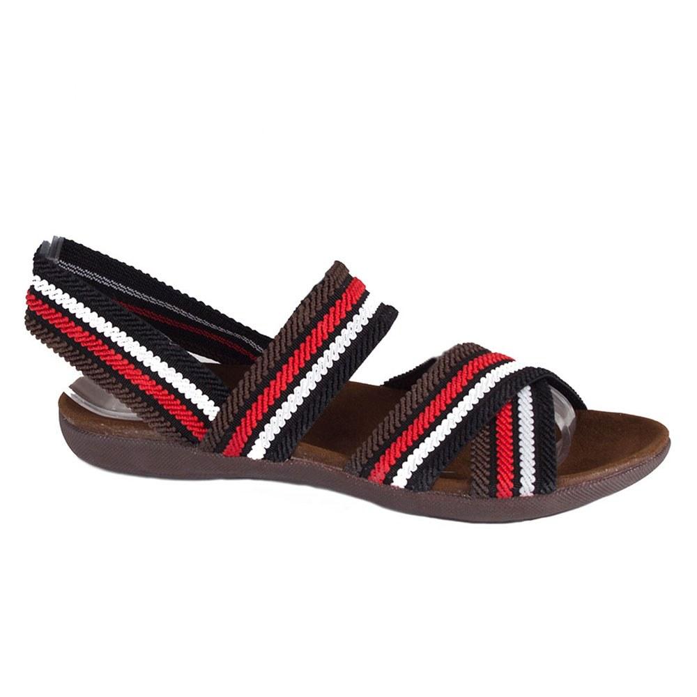 Sandale dama cu barete colorate X-38-N