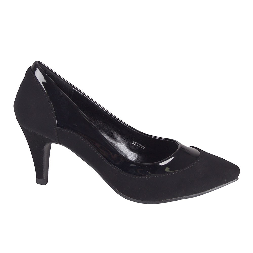 Pantofi dama cu toc 51598-NAVY la 39,99Lei - Zibra.ro
