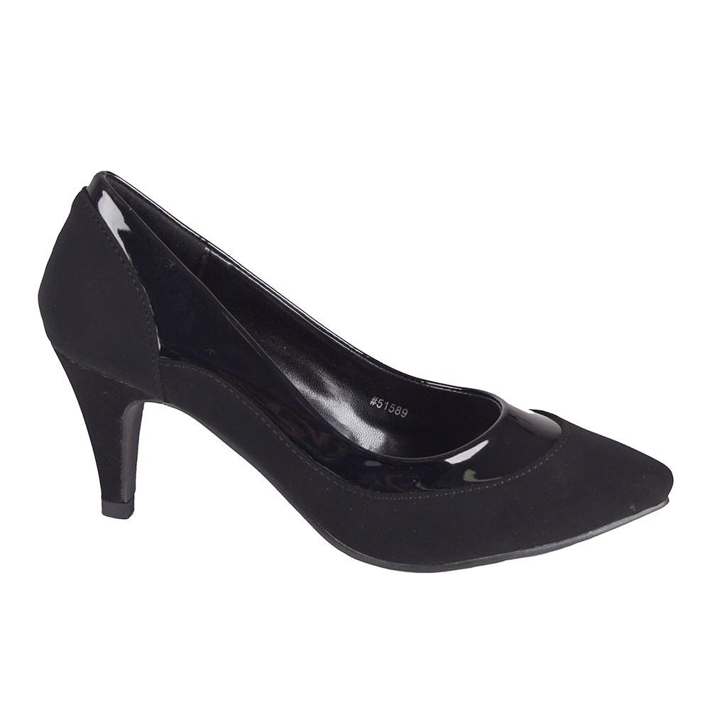 Pantofi dama negri cu toc 51589-N-L-PT