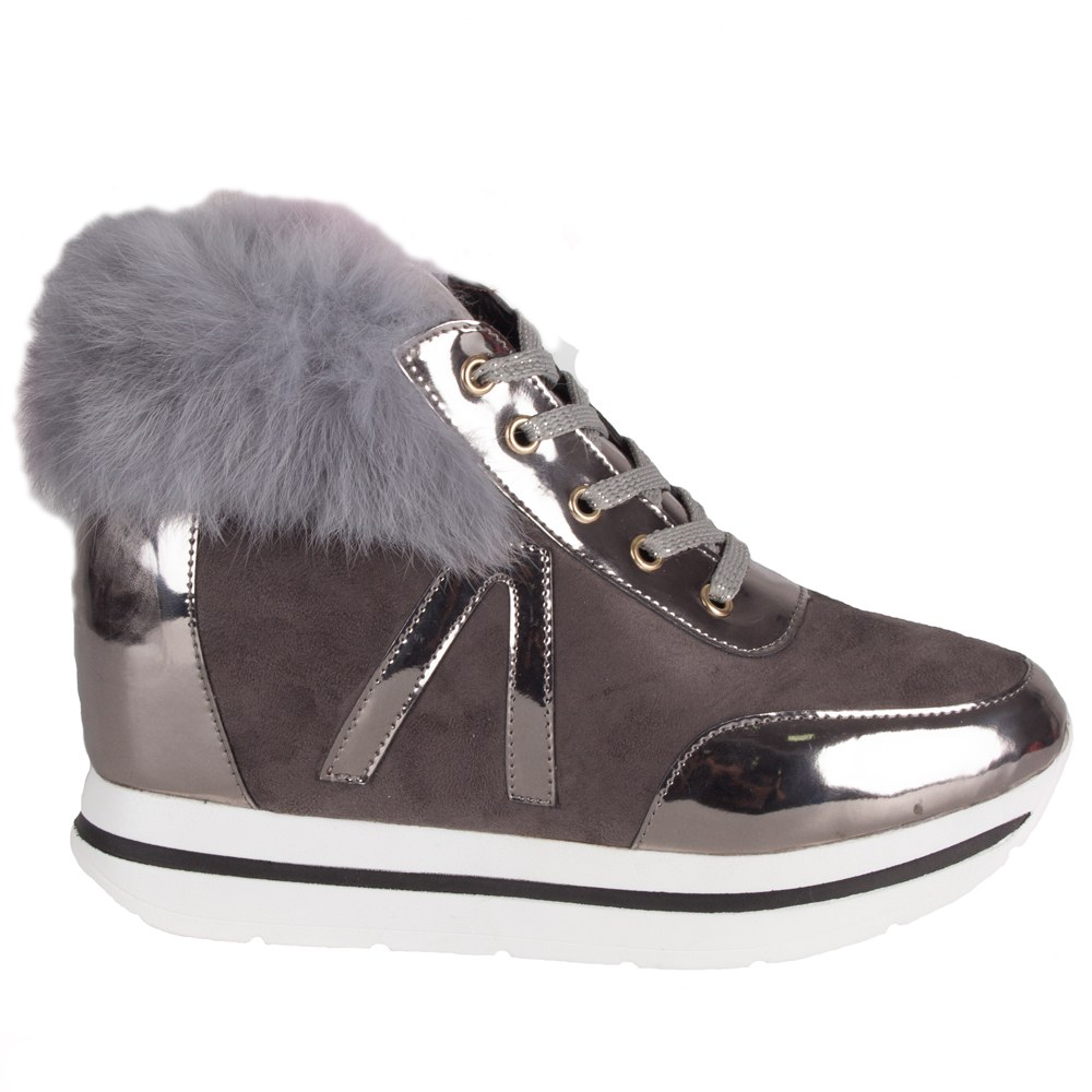 Sneakers dama cu platforma JU1086-G