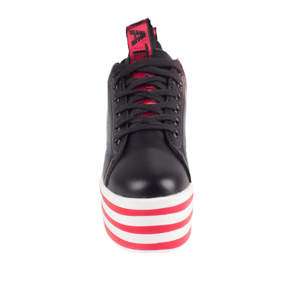 Sneakers dama cu platforma AB-519-BLACK