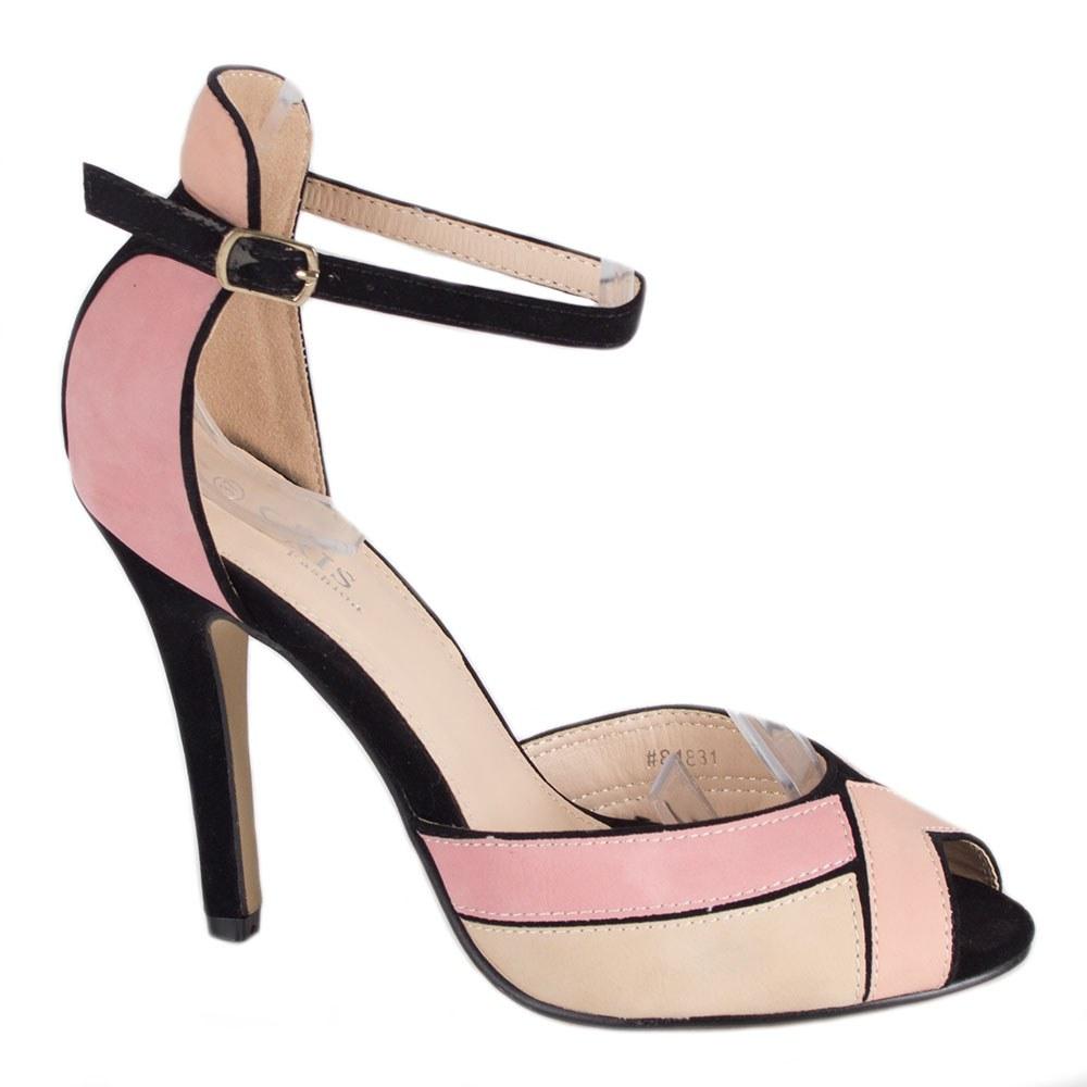 Sandale dama cu toc 81831R