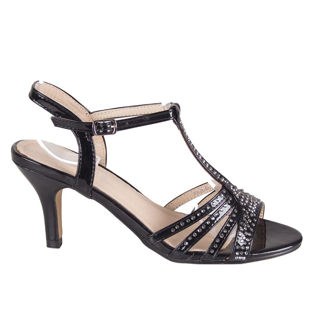 Sandale de dama cu toc 82646-N-PT-O