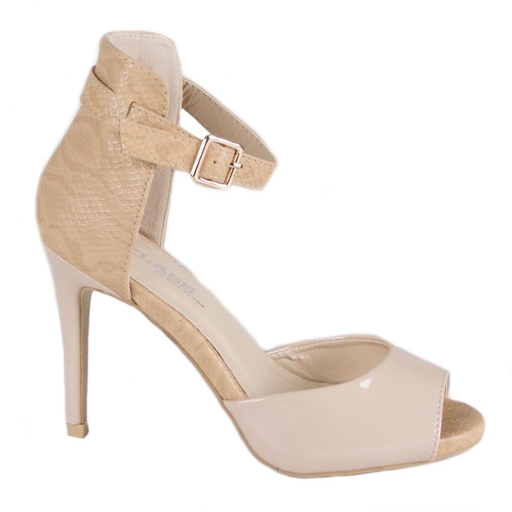 Sandale cu toc 82616B-T-PT-O