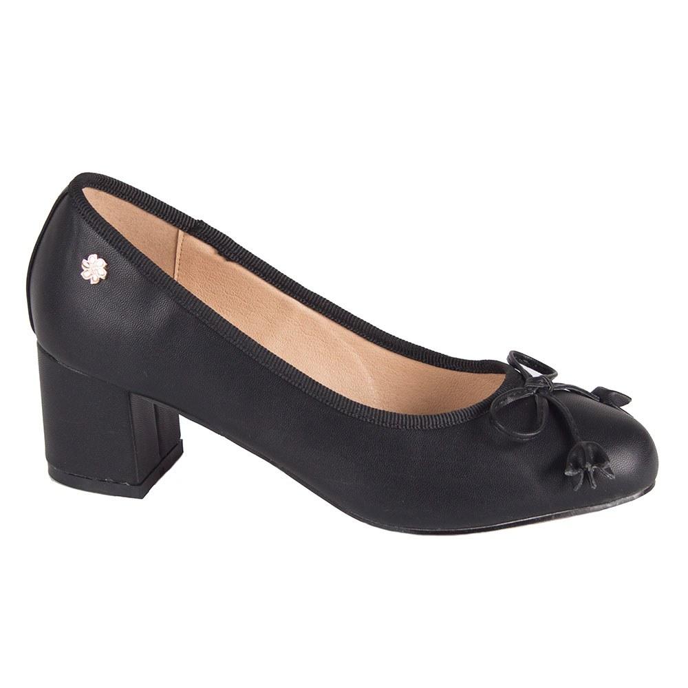 Pantofi de dama negri MP58-N