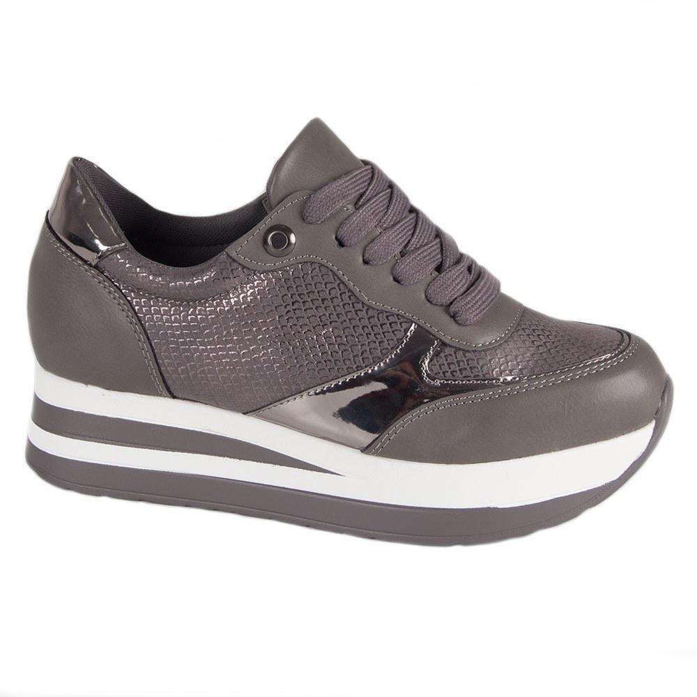 Sneakers dama cu platforma YHS865-G