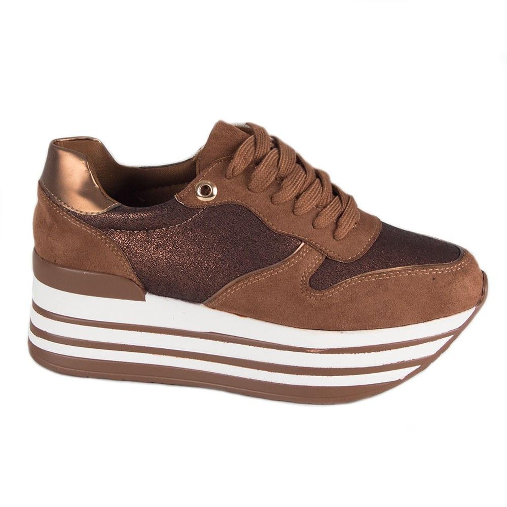 Sneakers dama cu platforma YHS-875-C