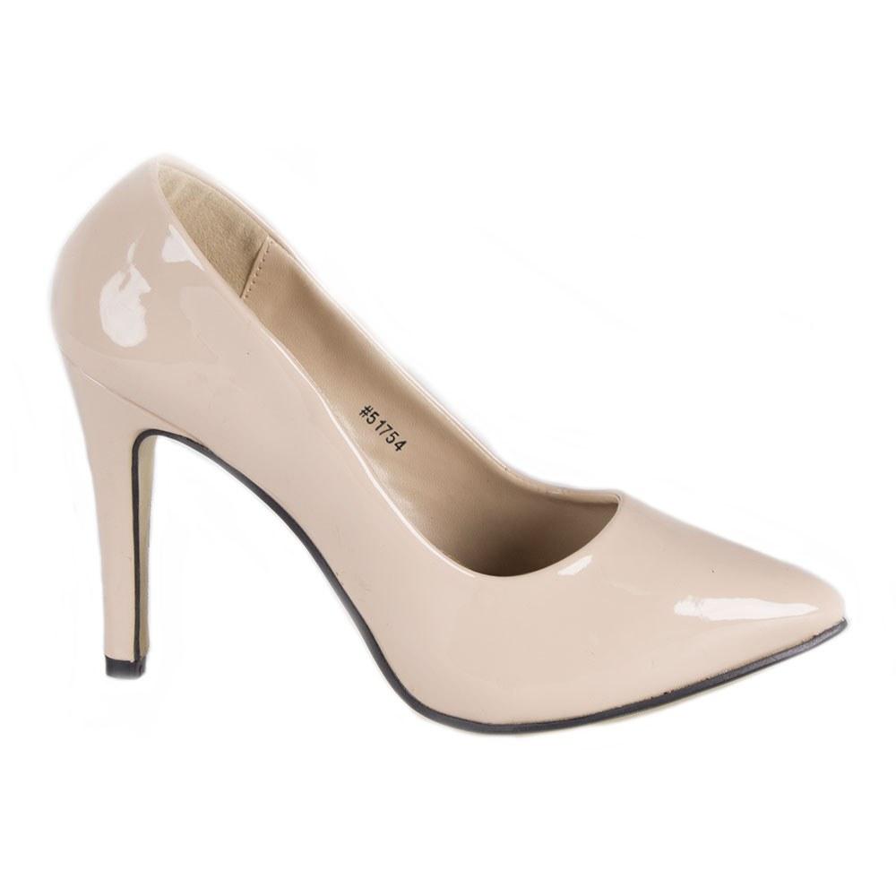 Pantofi dama cu toc B106-NEGRU la 39,99Lei - Zibra.ro