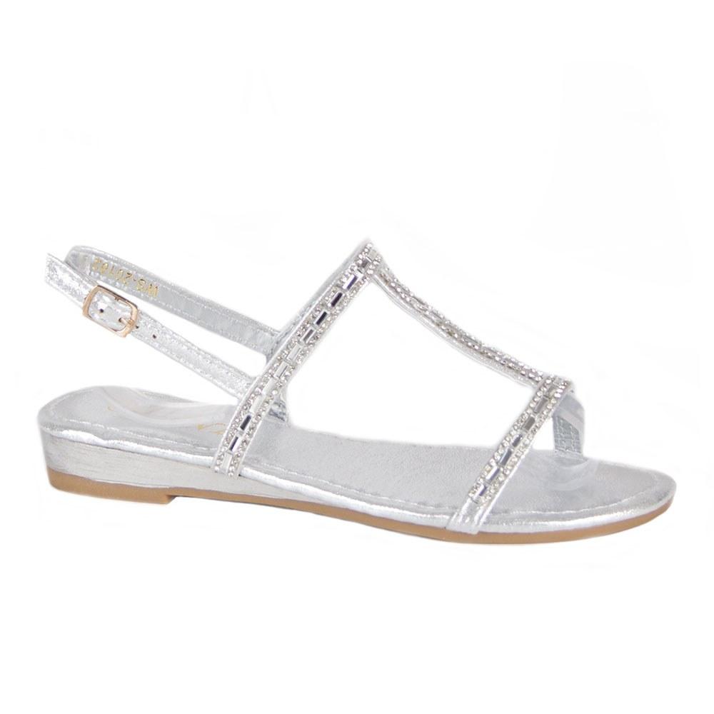 Sandale dama cu pietre aplicate WS-20182-S