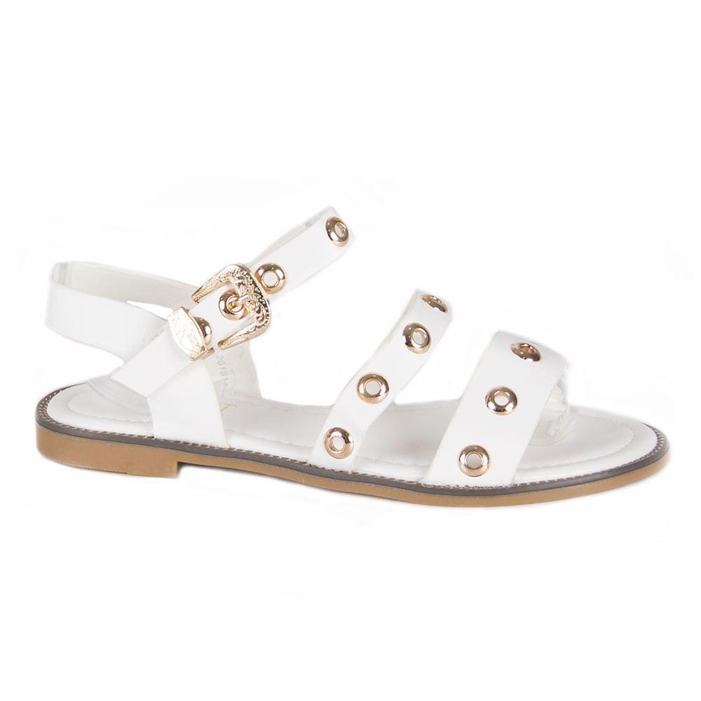 Sandale dama cu capse WS-20181-A