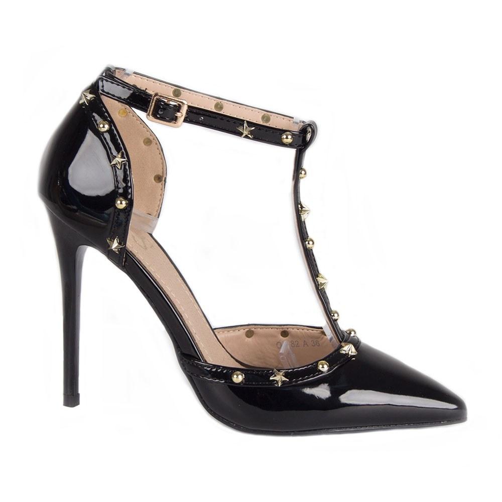 Sandale dama lacuite OD-82-N