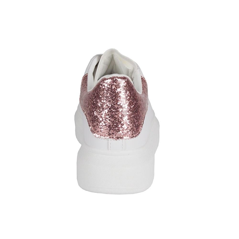 Pantofi dama albi sport 119-9-A/R