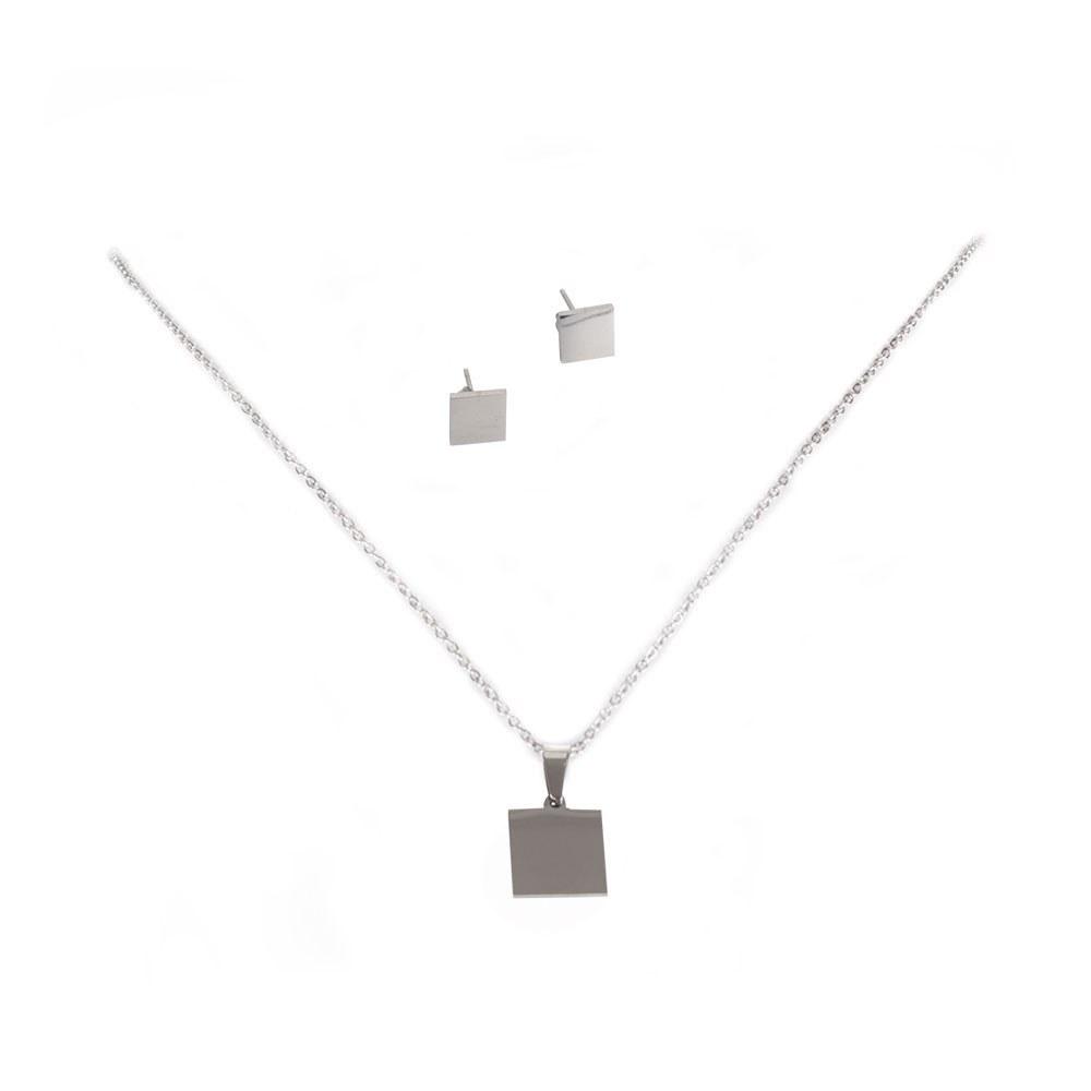 Set colier cu cercei JEW-3049-P