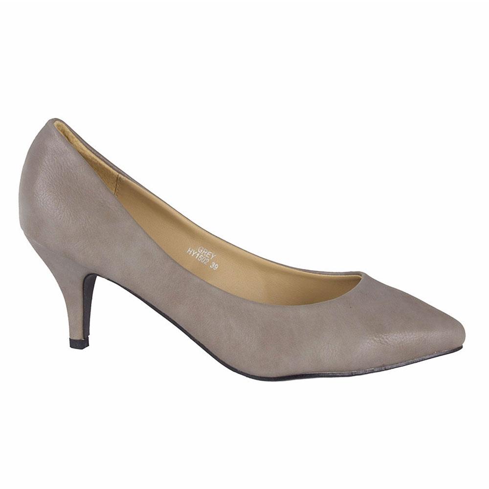 Pantofi dama cu toc HY1502-G