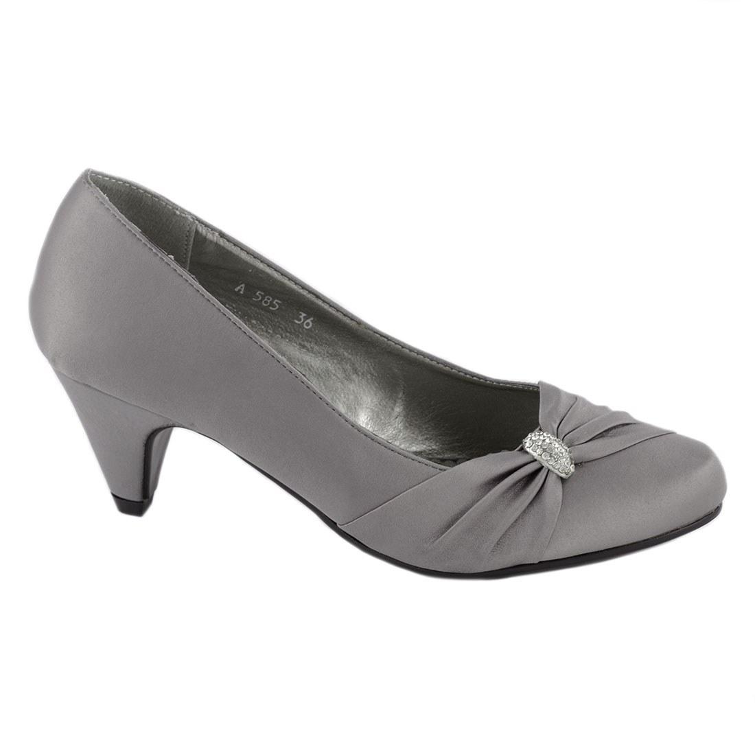 Pantofi dama cu toc A585-G-O