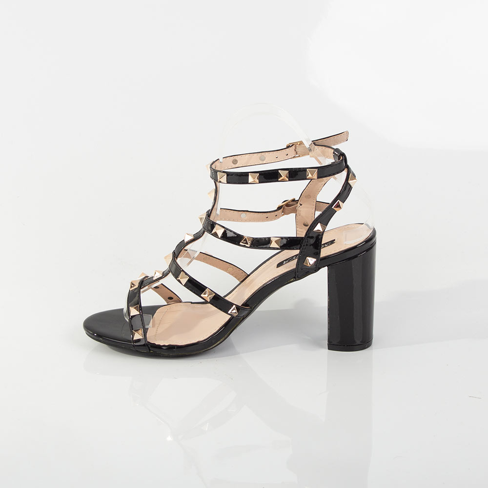 Sandale dama cu toc inalt si platforma 3370-6-BEIGE la 49