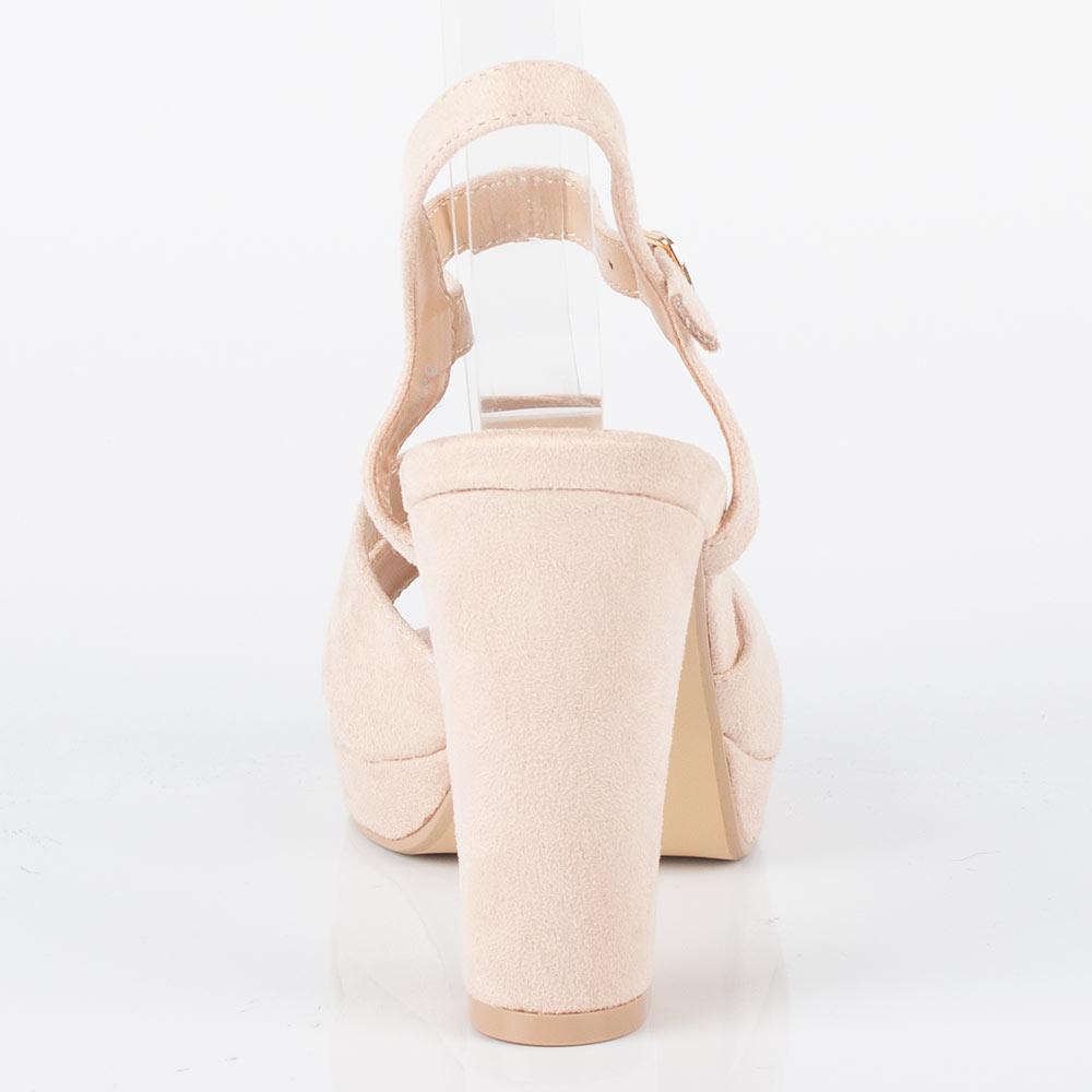 Sandale dama cu toc inalt, barete si tinte MW3A3488-19