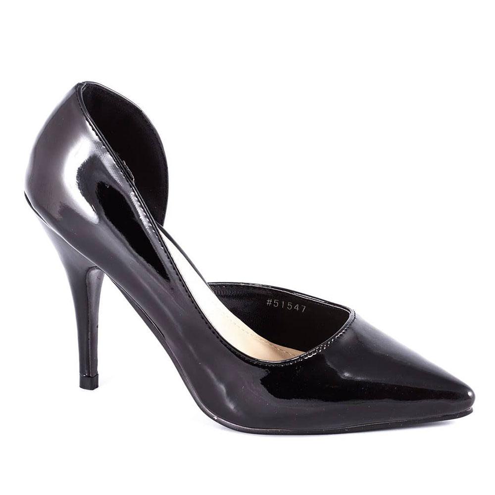 Pantofi dama negri cu toc 51547-B-PT