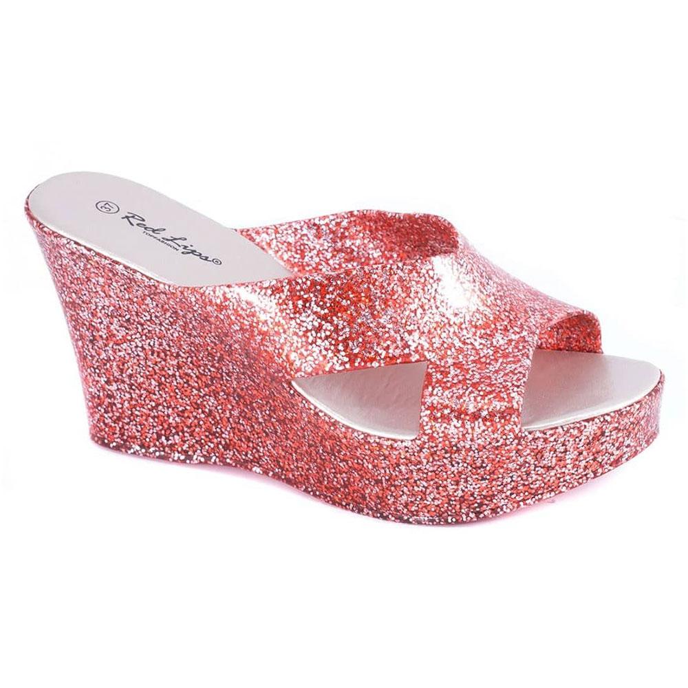 Papuci dama rosii AB948R