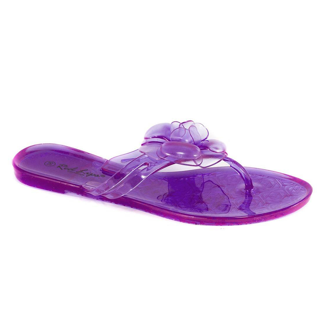 Papuci mov din cauciuc AB781M