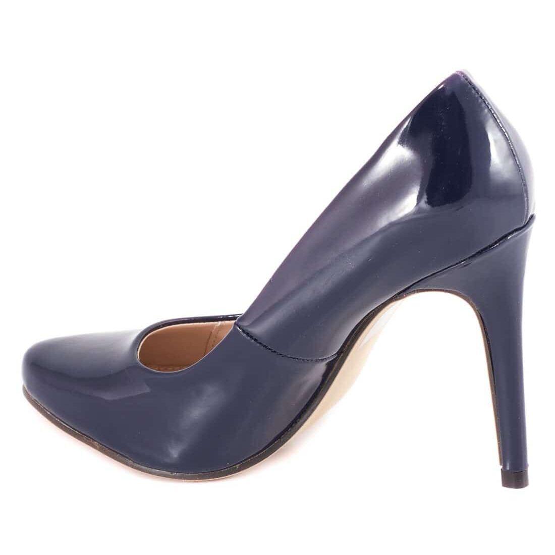 Pantofi de dama cu toc AF16227-BLUE la 39,99Lei - Zibra.ro
