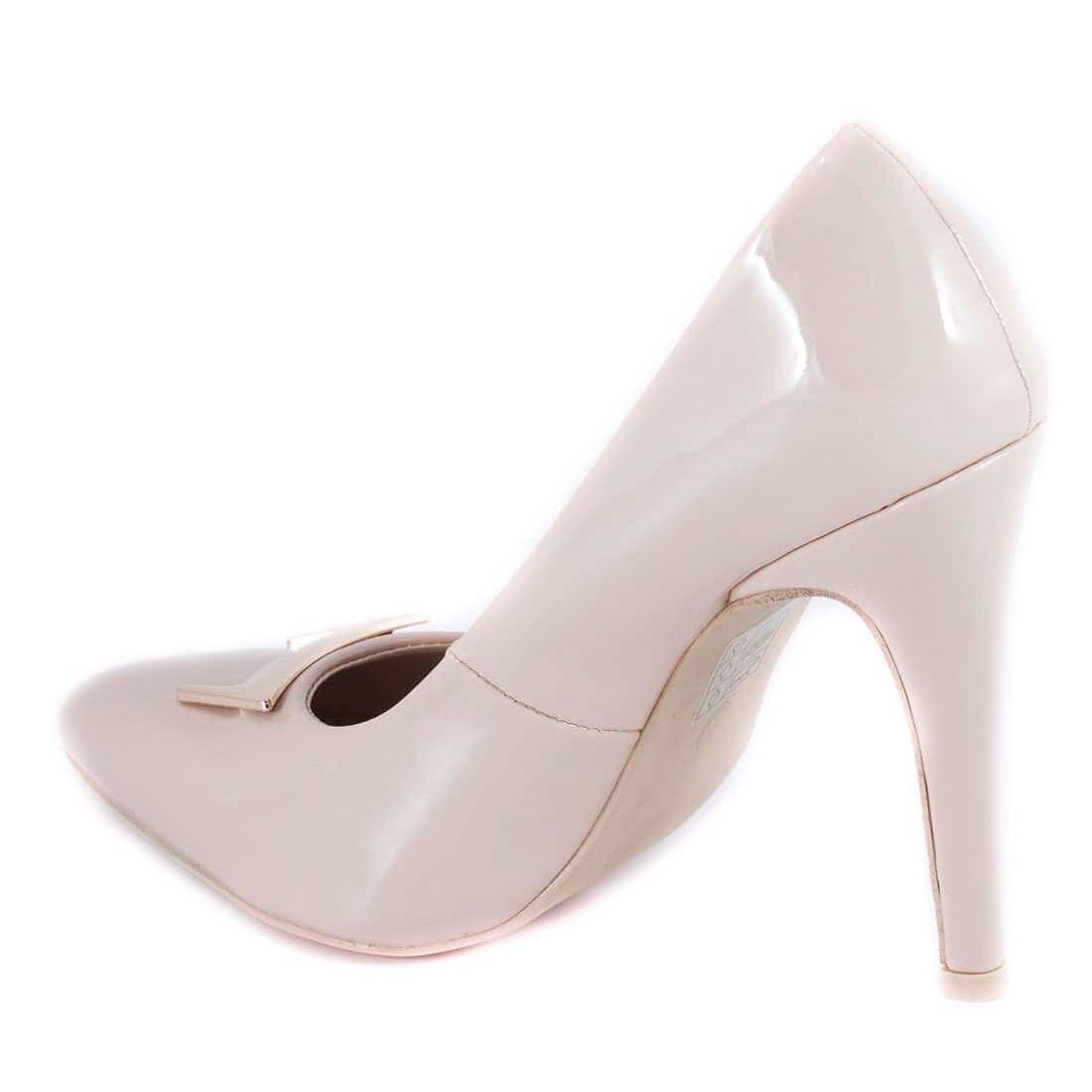 Pantofi dama cu toc 51936-NUDE-PT la 39,99Lei - Zibra.ro