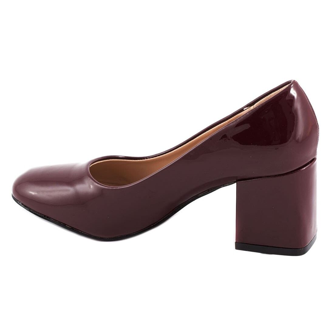 Pantofi de dama cu toc 51598ALB-PT la 39,99Lei - Zibra.ro