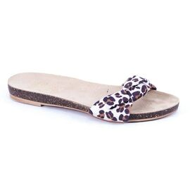 Papuci dama PBH88 - OFF White, Marime: 41, imagine