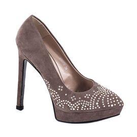 Pantofi cu platforma V3778 - Kaki