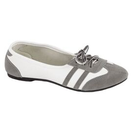 Pantofi gri de dama 0823G, Marime: 39, imagine