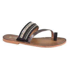 Papuci de dama negri L7308N