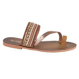 Papuci de dama camel L7308C