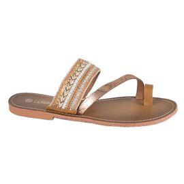 Papuci de dama bej L7308BEJ