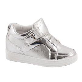 Sneakers de dama silver V1053-2S, Marime: 40, imagine