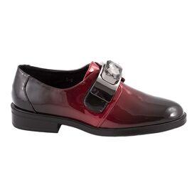Pantofi dama casual lacuiti L-6-WINE, Marime: 37, imagine