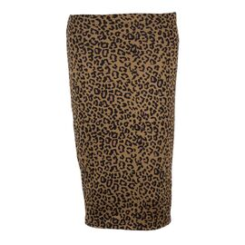 Fusta de dama conica animal print FD-5990, Marime: L, imagine