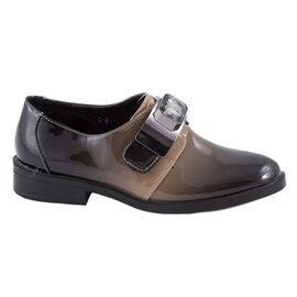 Pantofi dama casual lacuiti L-6-BEJ, Marime: 37, imagine