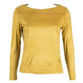 Bluza dama cu pietre aplicate si maneca lunga GB-353-G