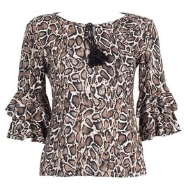 Bluza dama animal print FY4002-A