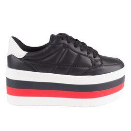 Sneakers dama cu platforma AB-516-BLACK