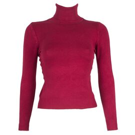 Pulover de dama scurt rosu 3105-R