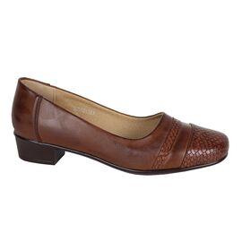 Pantofi dama maro cu toc mic 33590-M
