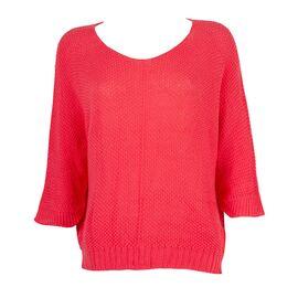 Bluza de dama tricotata corai TRZ-2706-C, imagine