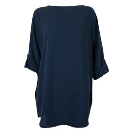 Rochie de dama oversize bleumarin 8874-B, imagine
